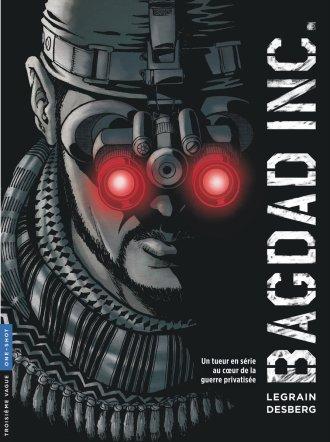 Bagdad Inc. - Desberg - Legrain - Couverture