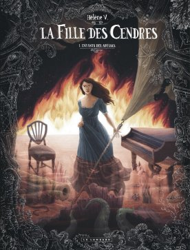 Helene V - La fille des cendres - Tome 1 - Couverture
