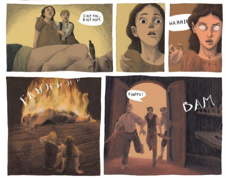 Helene V - La fille des cendres - Tome 1 - pouvoir
