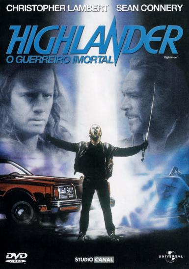 Higlander - Christophe Lambert - Sean Connery