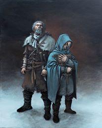 Le maître d'armes - Dorison - Parnotte - Peinture