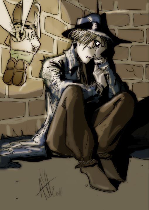 Ozville - Coel - Saber - Scarecrow - Tinky - boude