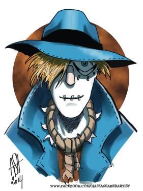 Ozville - Coel - Saber - Scarecrow