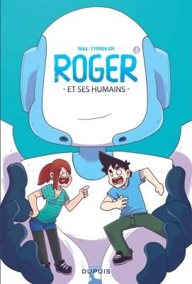 Roger et ses humains - Paka - Cyprien - Couverture