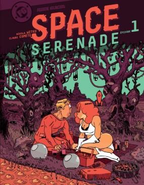 Space Serenade - Witko - Comète Bernstein - Couverture