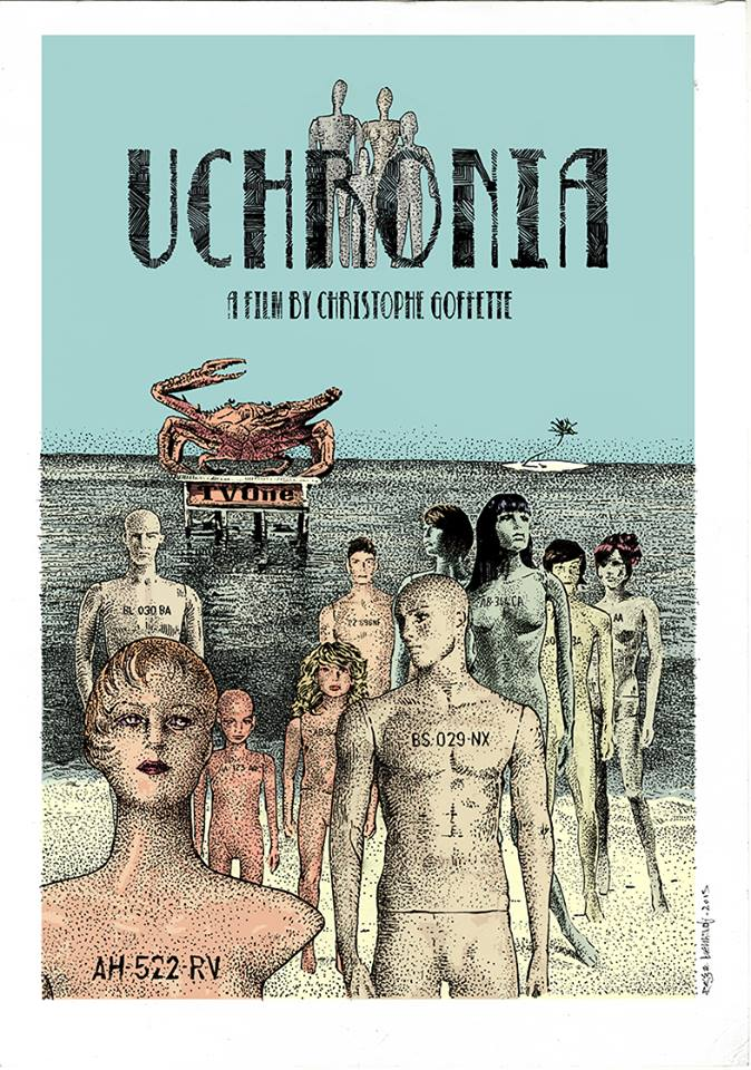 Uchronia - Christophe Goffette - Affiche - Reza Benhadj