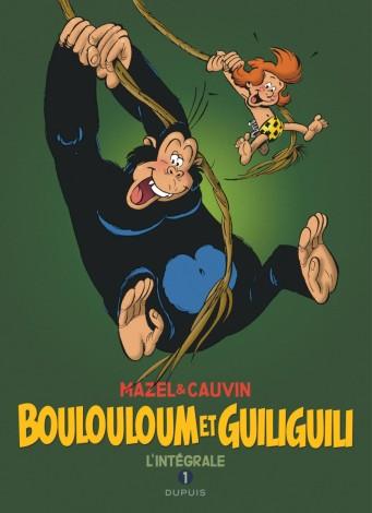 Boulouloum et Guiliguili - Intégrale - Cauvin - Mazel - Dupuis - Couverture