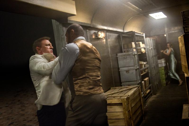 James Bond - 007 Spectre - Bagarre Dave Bautista