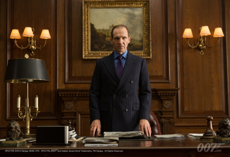 James Bond - 007 Spectre -Ralph Fiennes