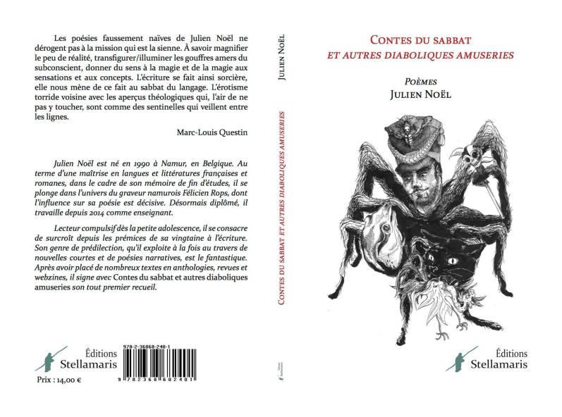 Julien Noel - recueil poésie - Contes du sabbat et autres diaboliques amuseries