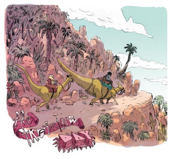 Almeida - Benchaieb - Boca Nueva - Soufre - dinosaures