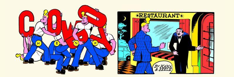 Cowboy Henk - L'art actuel - Herr Seele - Kamagurka - Extrait