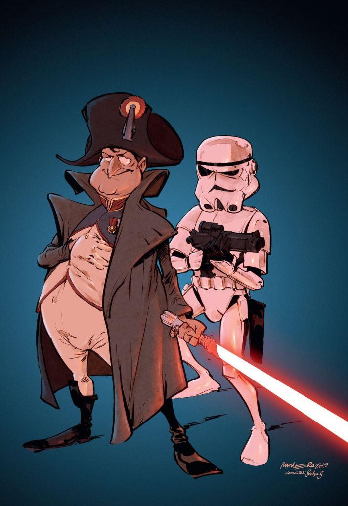 Groom - Spirou - Dupuis - Teaser - Napoléon - Star Wars