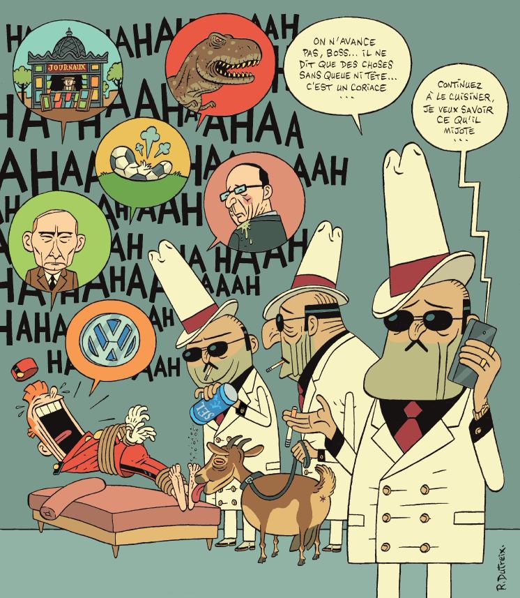 Groom - Spirou - Dupuis - Teaser - Torture