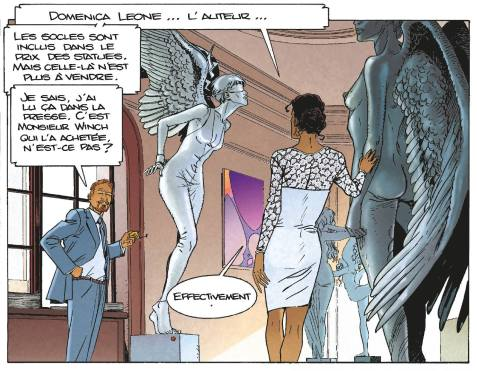Largo Winch - 20 secondes - Van Hamme - Francq - Sculpture Domenica