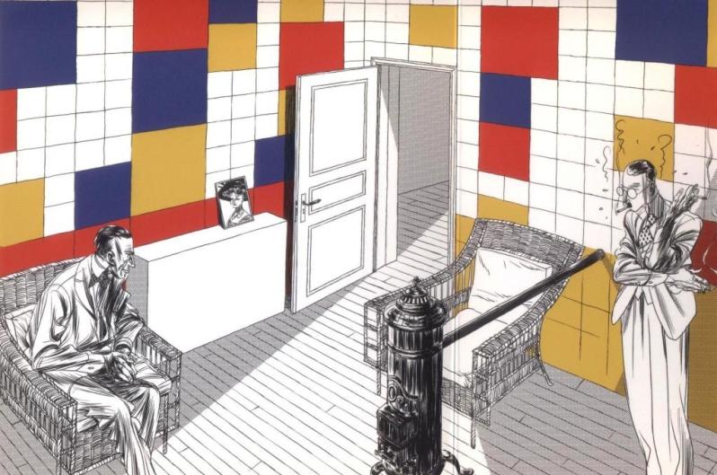 Le courant d'art - Bézian - salon
