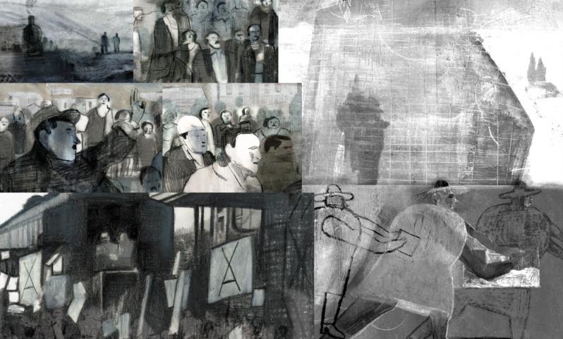 Olivier Bras - Jorge Gonzalez - Maudit Allende - meeting