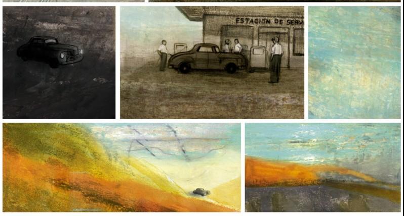 Olivier Bras - Jorge Gonzalez - Maudit Allende - voiture