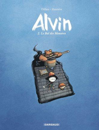 Alvin - T.2 - Le bal des monstres - Hautiere - Dillies - couverture