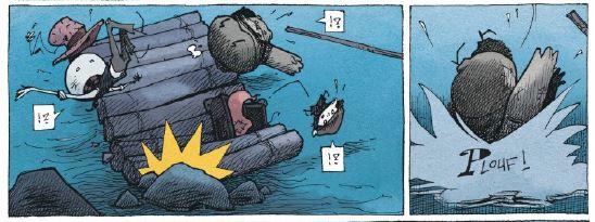 Alvin - T.2 - Le bal des monstres - Hautiere - Dillies - radeau