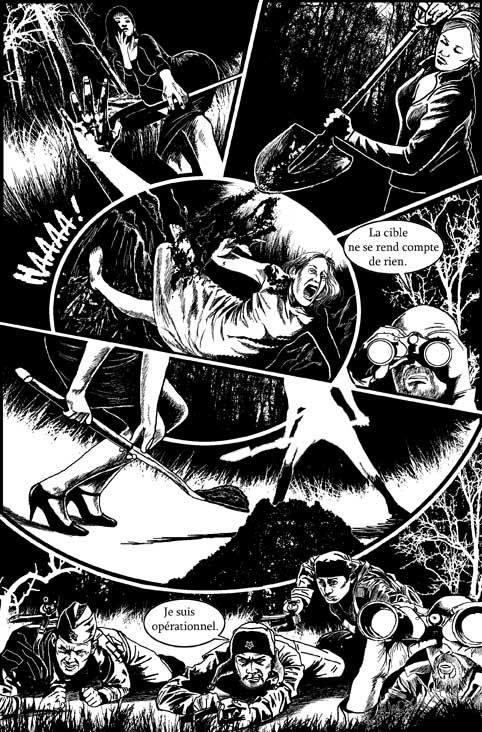 Larry Castillo - DeadMeatComix - horreur