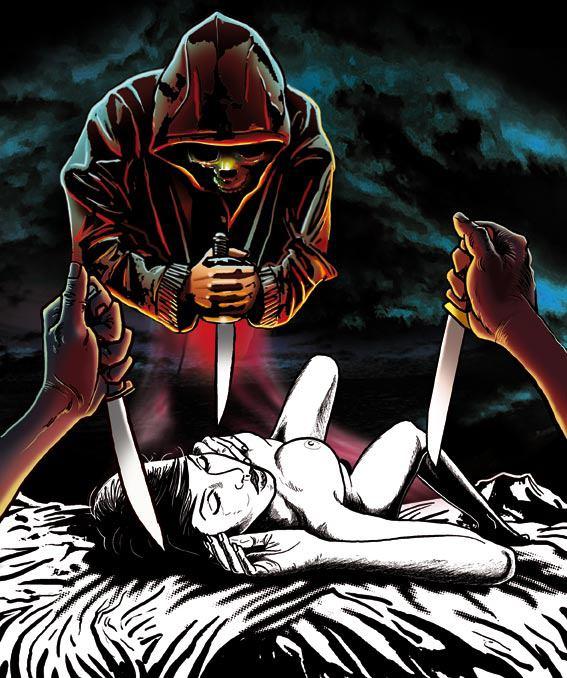 Larry Castillo - DeadMeatComix - Les passagers - meurtre
