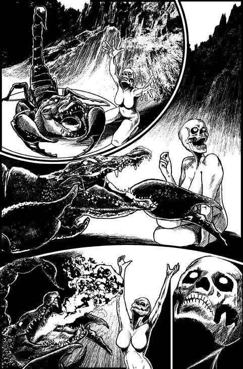 Larry Castillo - DeadMeatComix - rituel