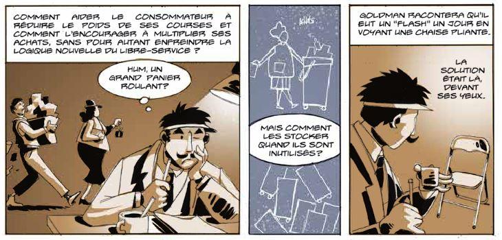 Le grand A - Xavier Betaucourt - Jean-luc Loyer - caddie