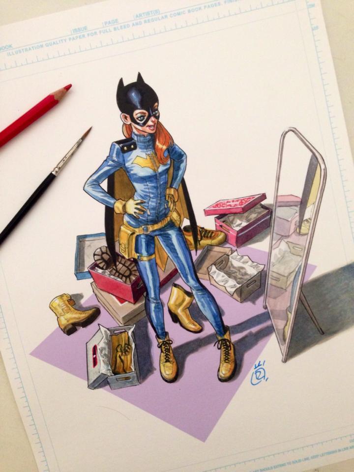 Mathieu Reynes - Batgirl
