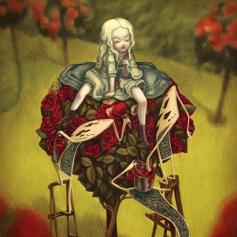 Alice Au Pays Des Merveilles 2016 - Lewis Carroll - Benjamin Lacombe - Dame de coeur