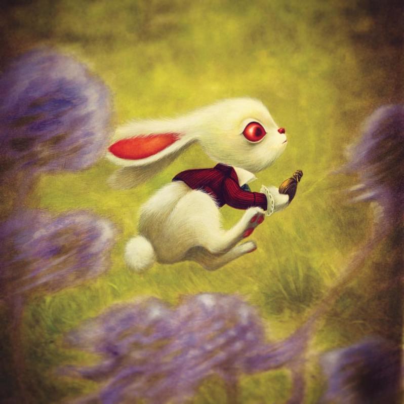 Alice Au Pays Des Merveilles 2016 - Lewis Carroll - Benjamin Lacombe - Lapin en retard