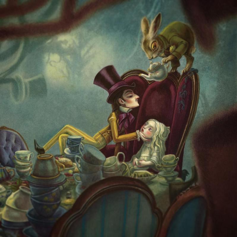 Alice Au Pays Des Merveilles 2016 - Lewis Carroll - Benjamin Lacombe - The