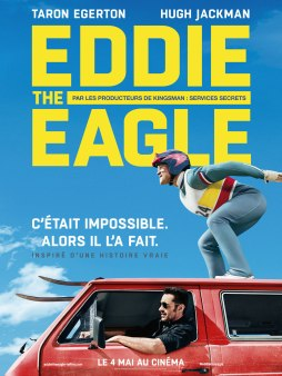 Eddie the eagle - Taron Edgerton - Eddie Edwards - Affiche