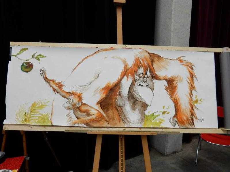 Frank Pe - Fresques - Fete de la BD Andenne 2015 (3)