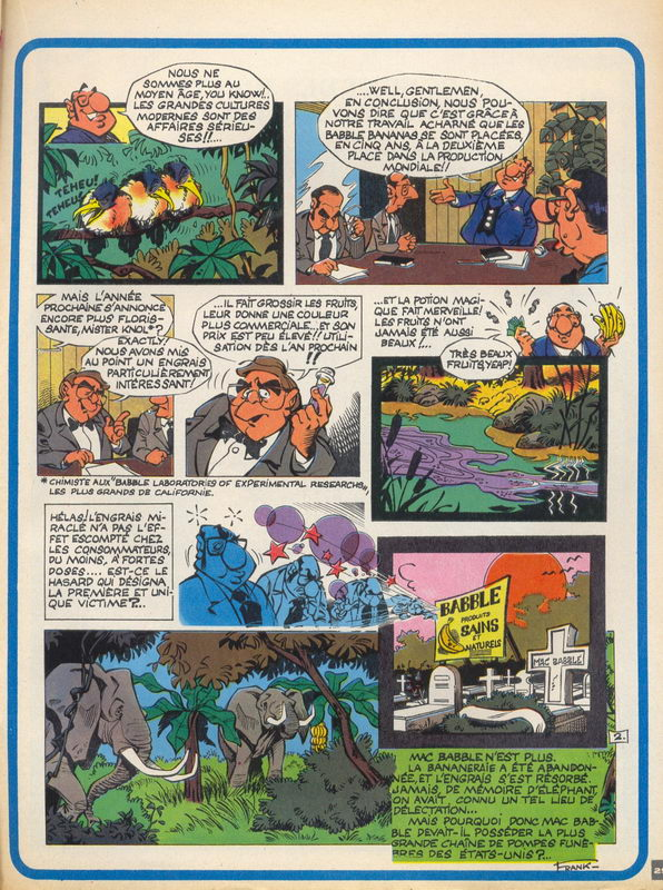 Frank Pe - Journal de Spirou - Carte Blanche - P.2