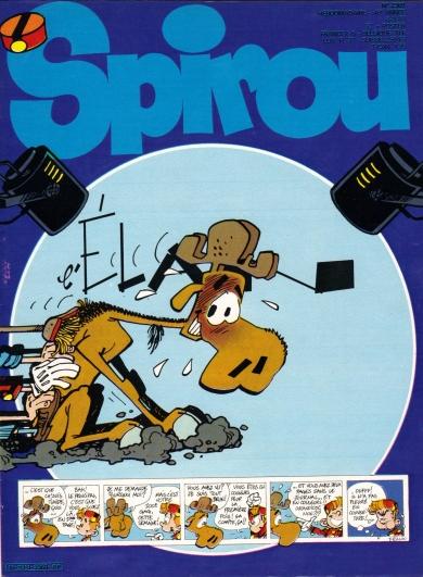 Frank Pe - Journal de Spirou - L'elan