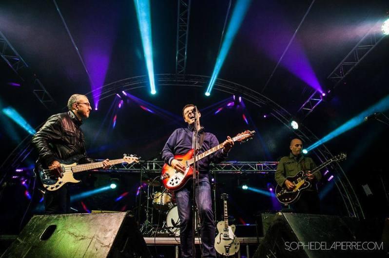 Hugo - live - groupe