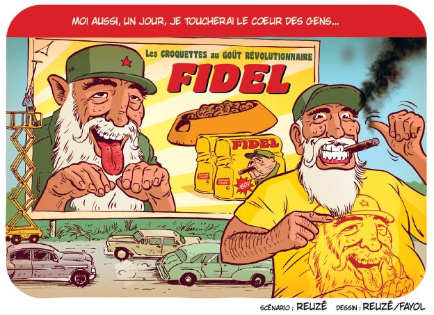 Reuze - Fayol - Ennemisdavant.com - Fidel Castro