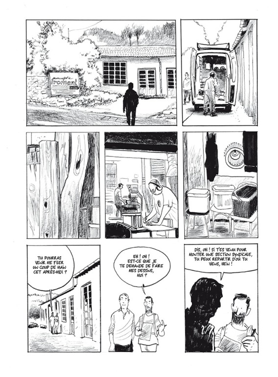 Aurel - La Menuiserie - Futuropolis - Page 20