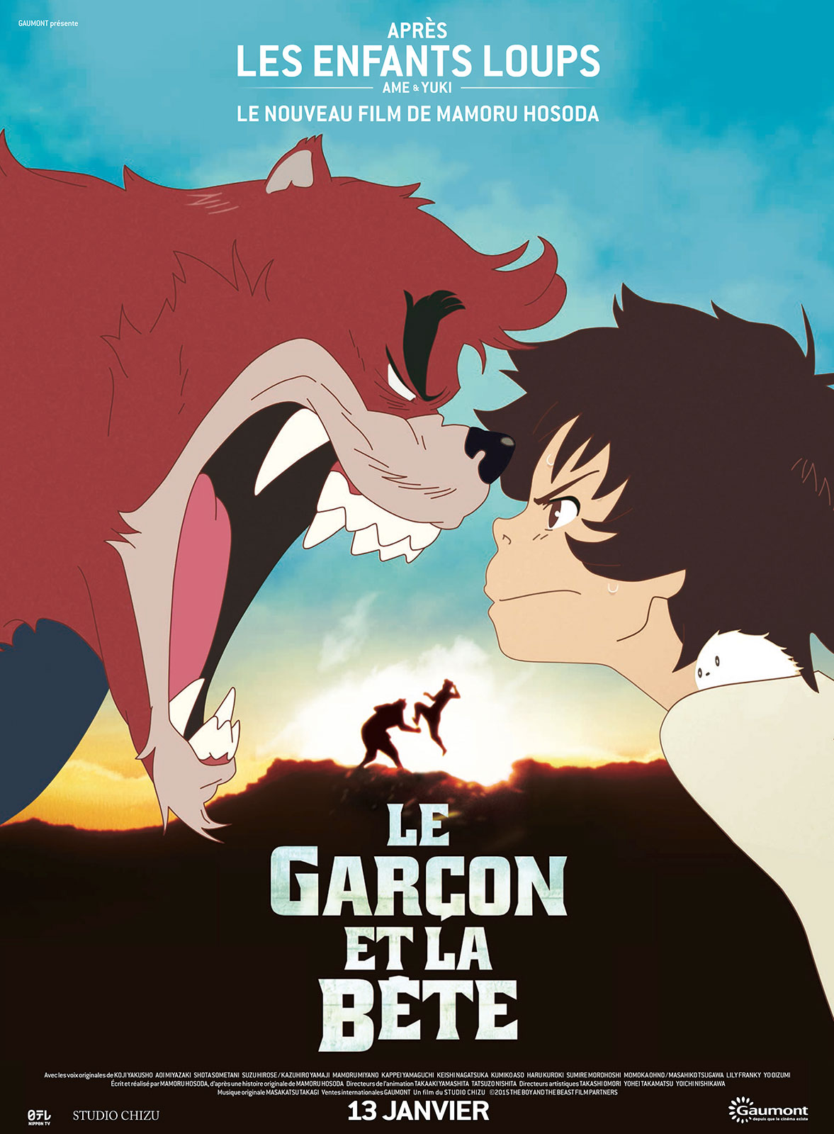 le garcon et la bete affiche - Affiche Garcon Robot