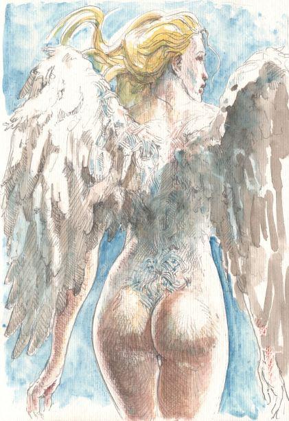 Les anges visiteurs - T.2 - Barboni - Murzeau - Eva