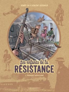Les enfants de la résistance - t.2 - Dugomier - Ers - Couverture