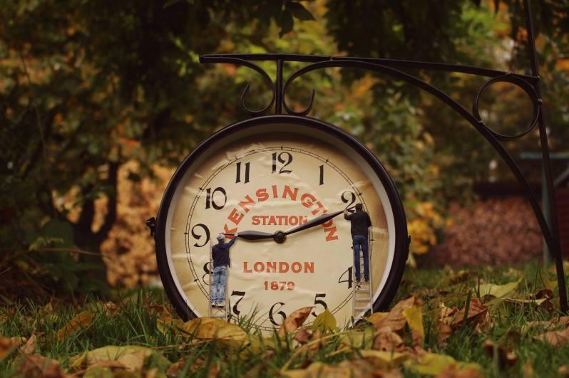Les miniboys - changement d'heure