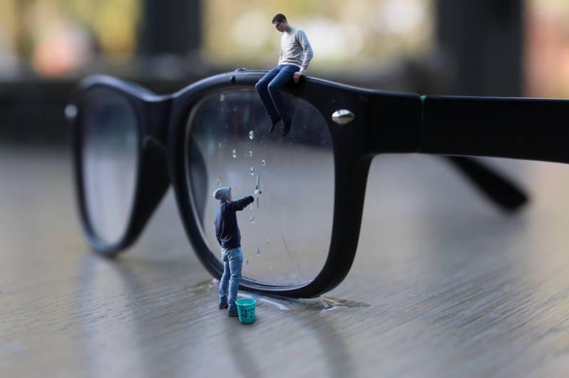 Les miniboys - lave lunettes