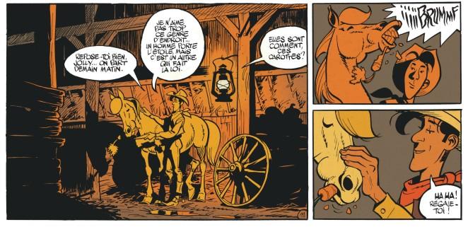 Matthieu Bonhomme - L'homme qui tua Lucky Luke - Jolly Jumper