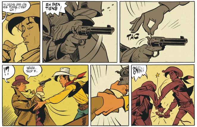 Matthieu Bonhomme - L'homme qui tua Lucky Luke - plus vite que son ombre