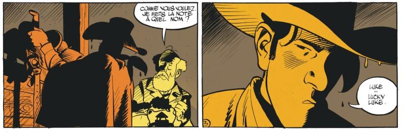 Matthieu Bonhomme - L'homme qui tua Lucky Luke - Presentation