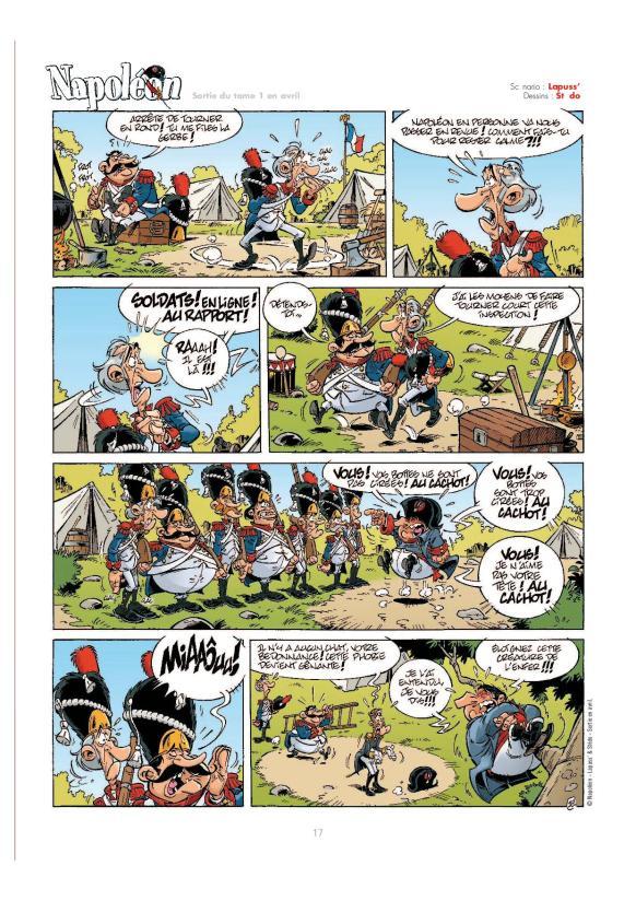 Napoleon - Lapuss' - Stedo - David Lunven - phobie chats