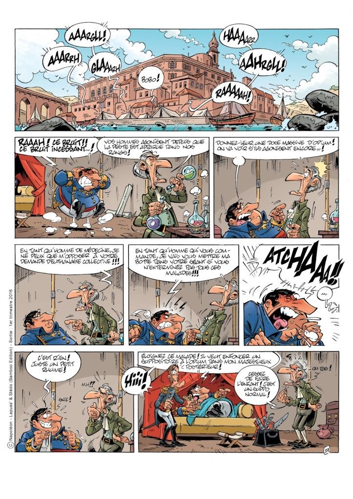 Napoleon - Lapuss' - Stedo - David Lunven - Rhume
