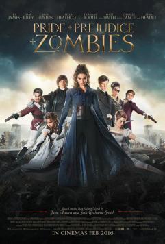 Orgueil et préjugés et zombies - Affiche 2